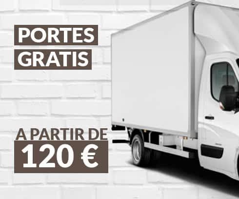 Portes Gratis a partir de 120€