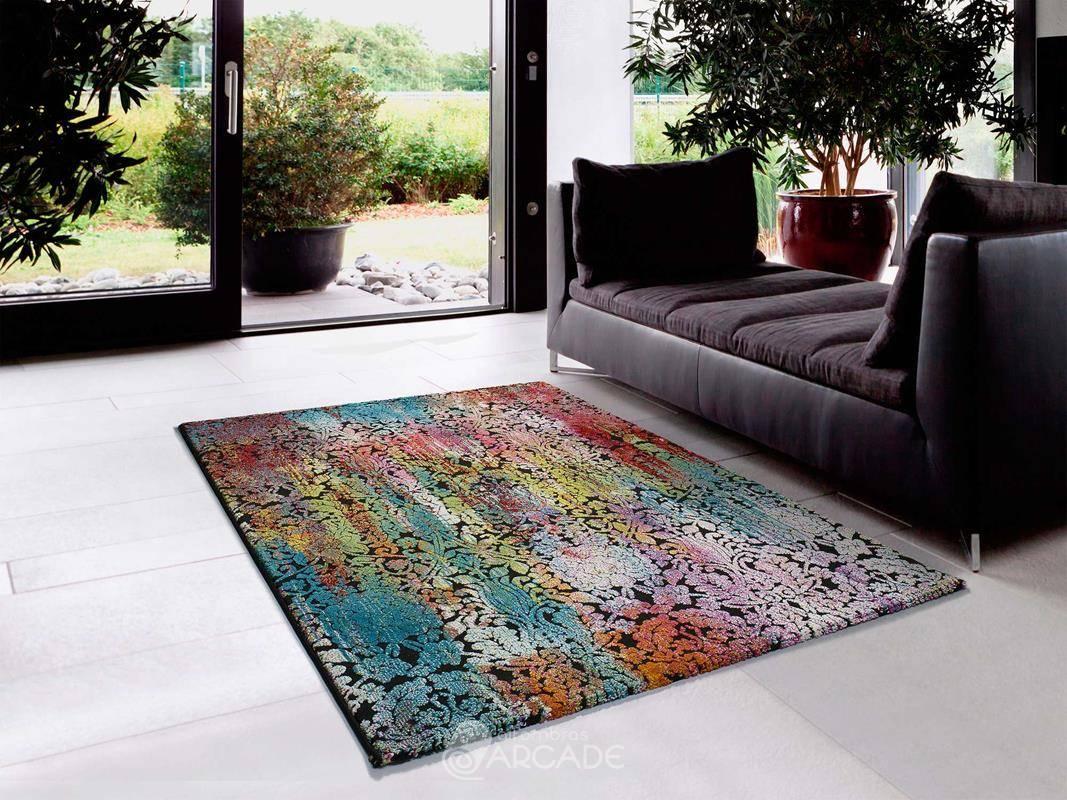 Alfombra moderna U40/24139 multicolor