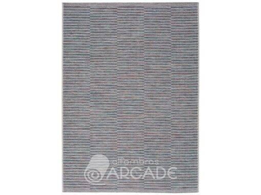 Alfombra geométrica U30/9855 azul