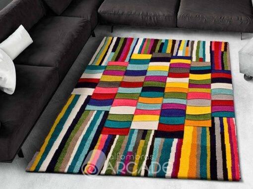 Alfombra Geométrica U80/3361 multicolor