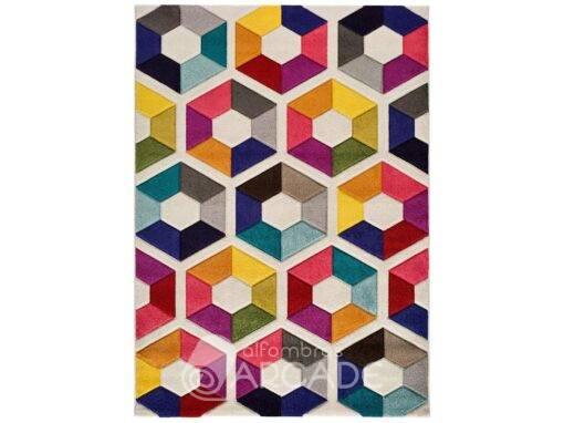 Alfombra Geométrica U80/3948 multicolor