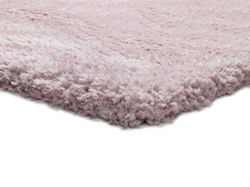 Alfombra shaggy pelo largo U140/rosa