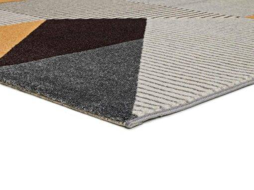 Alfombra estilo Nórdico U240/12138 gris