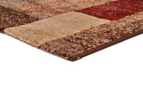 Alfombra étnica U100/1216 marrón pasillo
