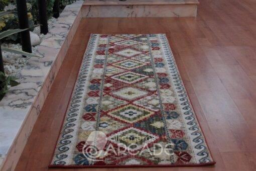 Alfombra de pasillo kilim fibra
