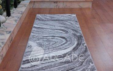 Alfombra de pasillo V15/179 gris
