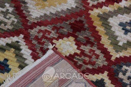 Alfombra kilim fibra