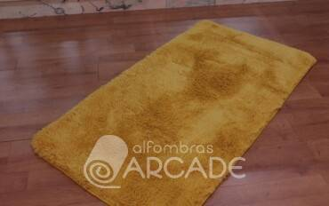 Alfombra Lavable mostaza