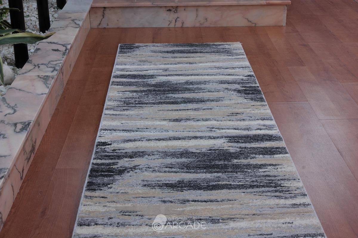 Alfombra de pasillo V55/3724 gris