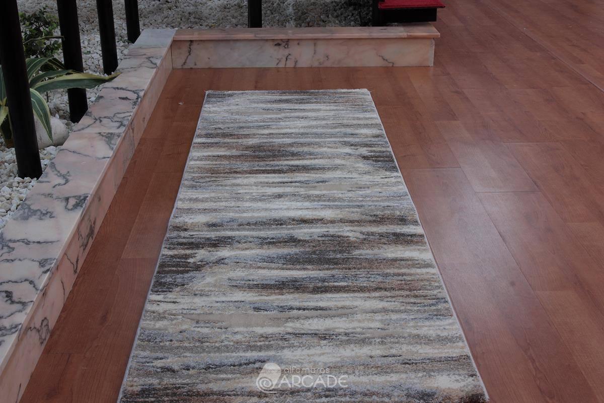 Alfombra de pasillo V55/3724 marrón