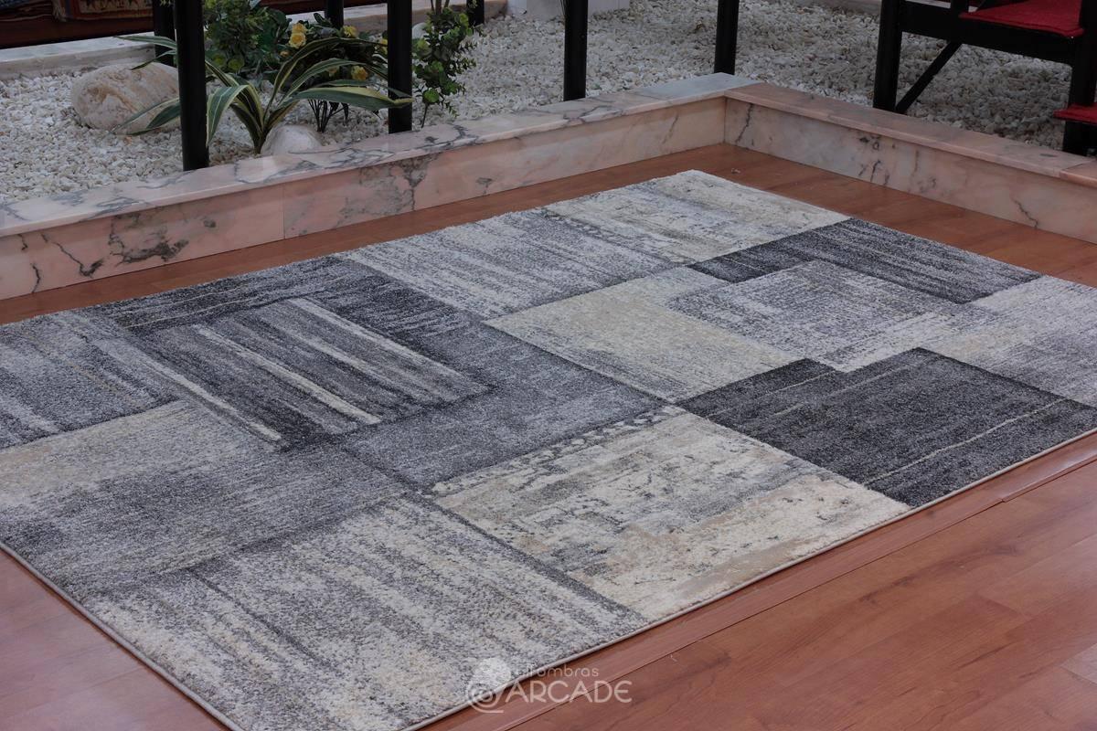 Alfombra moderna  V55/3568 gris